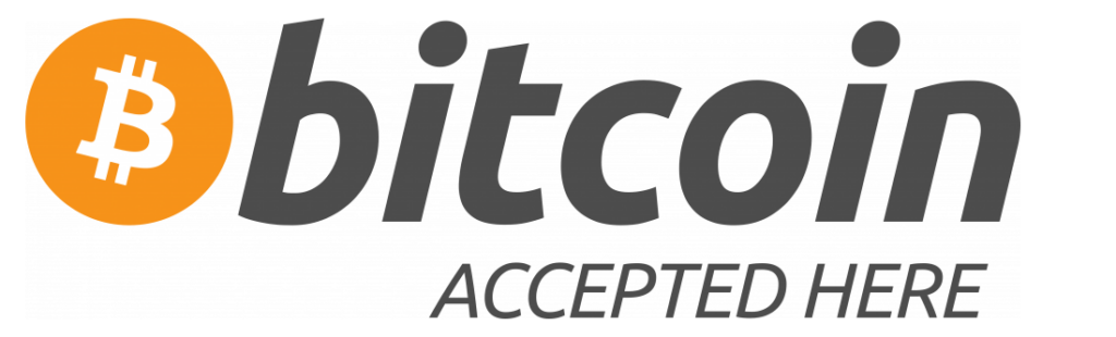 Bitcoin Accepted Here Sign Transparent